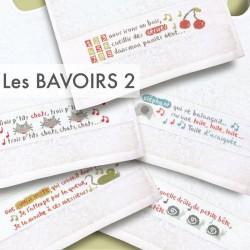 Les bavoirs 2 - Lilipoints - pack complet