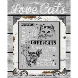 Love Cats 2 - Isabelle Haccourt Vautier