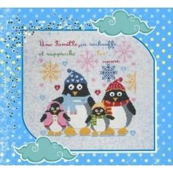 La famille Pingouin - Isabelle Haccourt Vautier