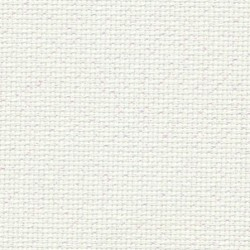 Toile Aïda Zweigart 8fils/cm - largeur 110cm - blanc pailleté irisé