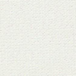 Toile Aïda Zweigart 8pts/cm - largeur 110cm - blanc pailleté irisé