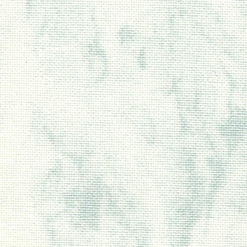 Toile Murano Zweigart 12,6fils/cm - 50x70cm - blanc marbré gris