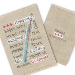 Semi-kit carnet de santé - Lilipoints