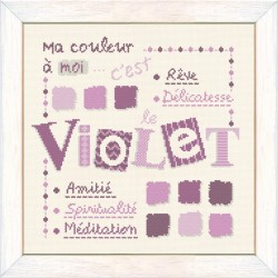 Violet - Lilipoints - Semi-kit diagramme+fils