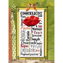 Gentil coquelicot - Isabelle Haccourt Vautier