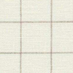 Lin Zweigart Belfast  Carré 12,6fils/cm - laize 140cm - ivoire à carreaux lin