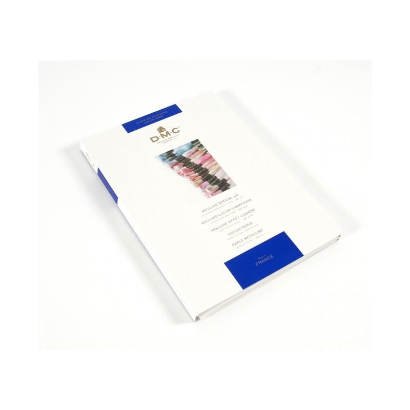 Nuancier fils à broder DMC - moulinés et perlés