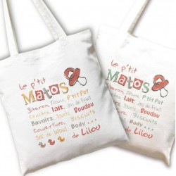 Sac Le p'tit matos - Lilipoints
