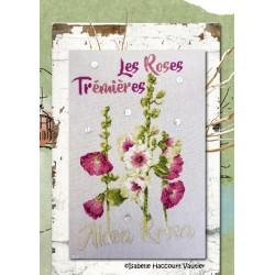 Les Roses Trémières - Isabelle Haccourt Vautier