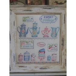Cuisine Esprit Vintage - Des Histoires à broder