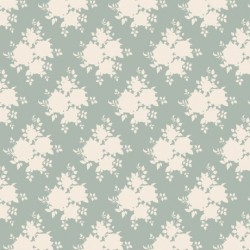 Sally Bluegreen - coupon 50x55cm - tissu Tilda