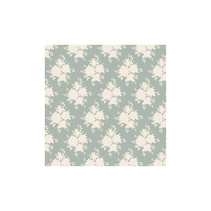 Sally Bluegreen - coupon 50x55cm - tissu Tilda
