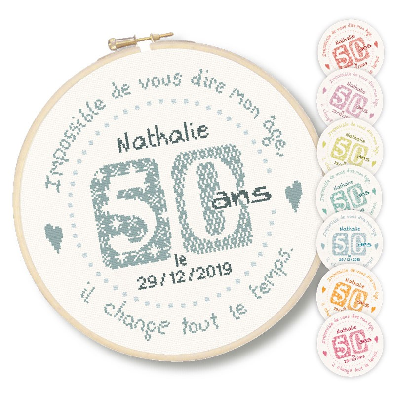 50 ans - Lilipoints