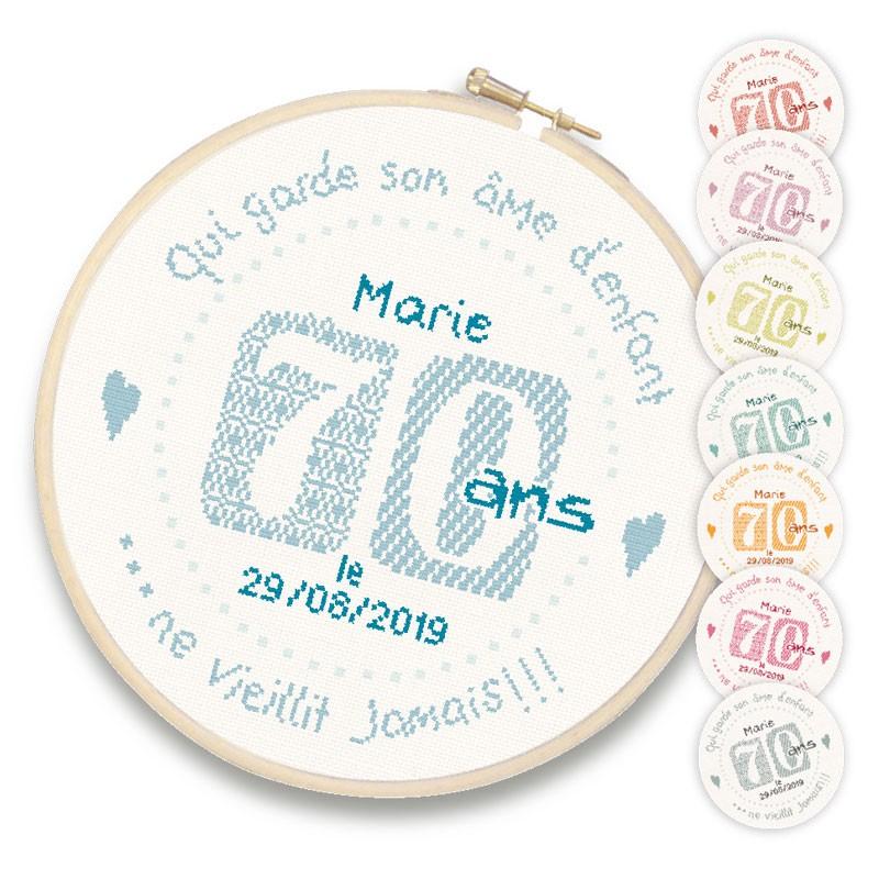 70 ans - Lilipoints
