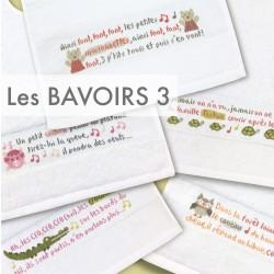 Les bavoirs 3 - Lilipoints - Semi-kit diagramme+bavoir