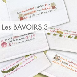 Les bavoirs 3 - Lilipoints - Semi-kit diagramme+fils