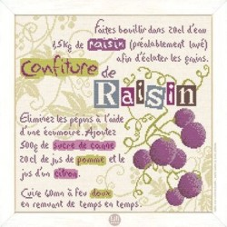 La confiture de raisin - Lilipoints