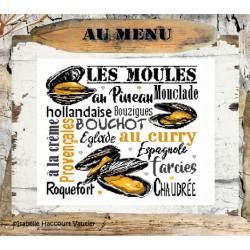 Les moules - Isabelle Haccourt Vautier