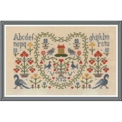 New Antique Sampler - Jardin Privé