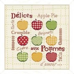 Délices aux pommes - Lilipoints