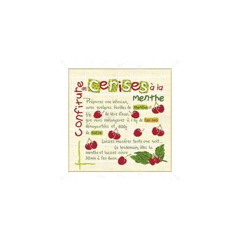 La confiture de cerises - Lilipoints