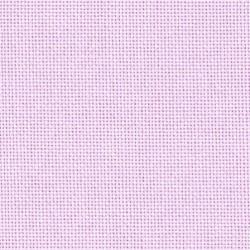 Toile Lugana Zweigart 10fils/cm 50x70cm parme rosé