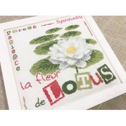 La fleur de lotus - Lilipoints - pack complet