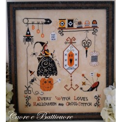 Halloween and Cross Stitch - Cuore e Batticuore