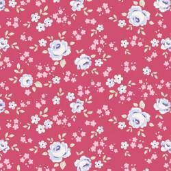 Eliza Raspberry - coupon 50x55cm - tissu Tilda