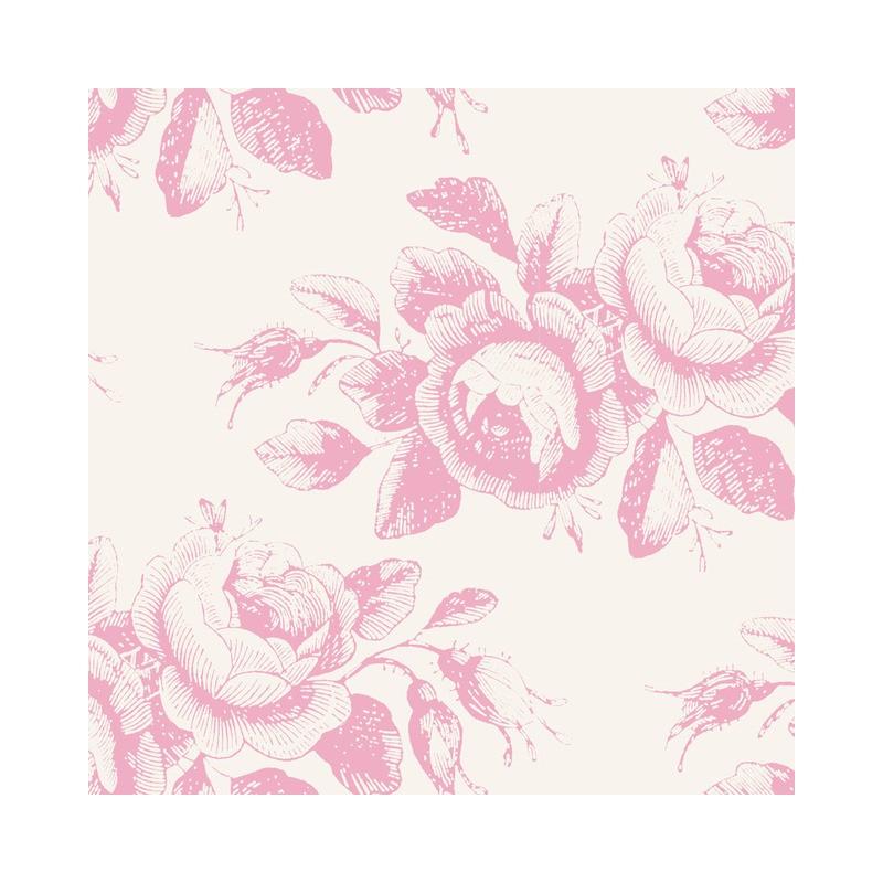 Mary Pink - coupon 50x55cm - tissu Tilda