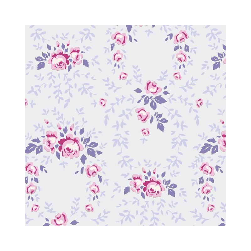 Lucy Lavender Mist - coupon 50x110cm - tissu Tilda