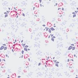 Lucy Lavender Mist - au mètre - laize 110cm - tissu Tilda