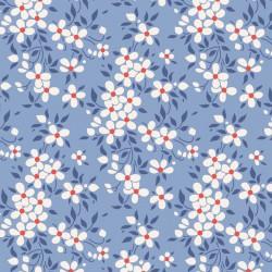 Peggy Blue - coupon 50x55cm - tissu Tilda