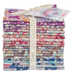 Fat Eight Bundle - Plum Garden - Tissu Tilda