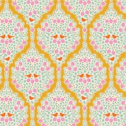 Lemonade Yellow - coupon 50x55cm - tissu Tilda
