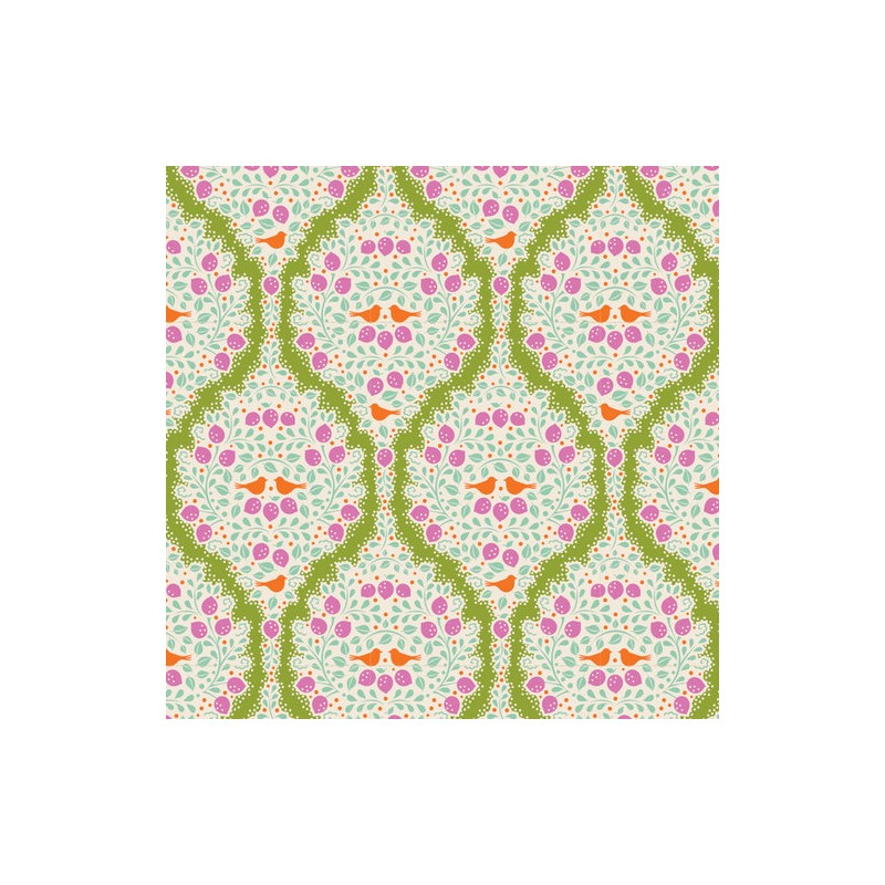 Lemonade Green - coupon 50x55cm - tissu Tilda
