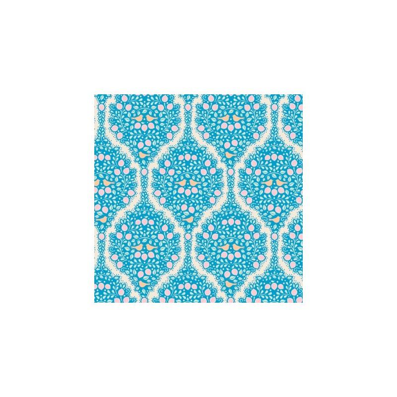 Lemonade Blue - coupon 50x55cm - tissu Tilda