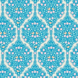 Lemonade Blue - coupon 50x110cm - tissu Tilda