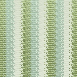 Mosaics Green - coupon 50x110cm - tissu Tilda