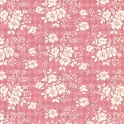 Libby Pink - coupon 50x55cm - tissu Tilda