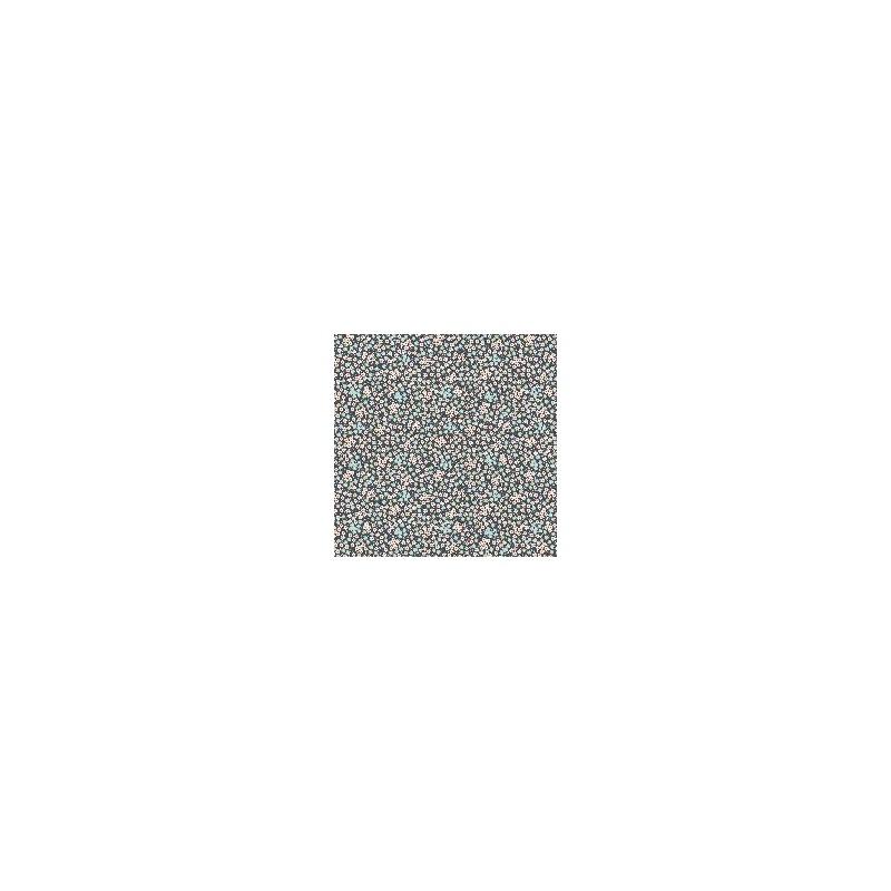 Tess Dark Slate - coupon 50x55cm - tissu Tilda