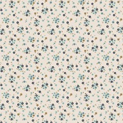 Tilly Blue - coupon 50x55cm - tissu Tilda