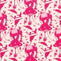 Circus Life Red - coupon 50x110cm - tissu Tilda
