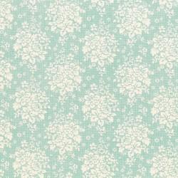 Summer Picnic Teal - coupon 50x110cm - tissu Tilda