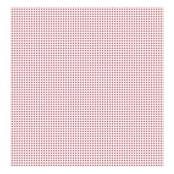 Mini Gingham Red - coupon 50x55cm - tissu Tilda