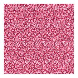 Sigrid Red - coupon 50x110cm - tissu Tilda
