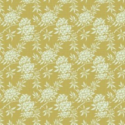 Flower Bush Green - coupon 50x110cm - tissu Tilda