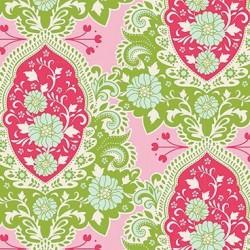 Charlotte Pink - coupon 50x110cm - tissu Tilda