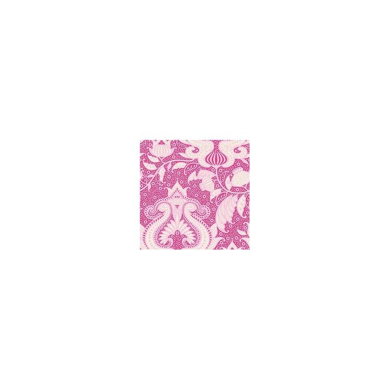 Ocean Flower Pink - coupon 50x110cm - tissu Tilda