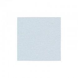 Toile Bellana Zweigart 8fils/cm - largeur 140cm - bleu pâle